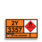 durable label for safety or outdoor use